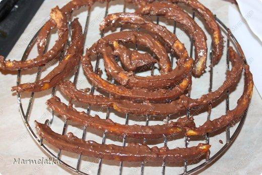 Кулинария Мастер-класс Рецепт кулинарный Апельсиновые палочки в шоколаде Продукты пищевые фото 10