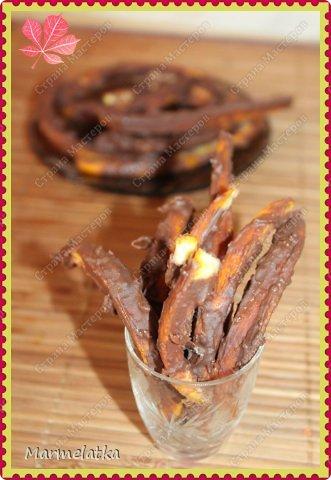 Кулинария Мастер-класс Рецепт кулинарный Апельсиновые палочки в шоколаде Продукты пищевые фото 1