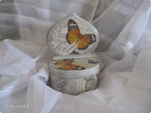 """В продолжение вчерашнего блога еще небольшая порция шкатулок. Шкатулка """" В цветущем саду""""  фото 8"""