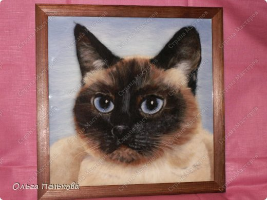 """Моя работа """"Тайский кот Барсик"""""""