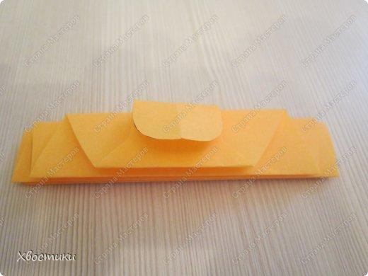 Хочу показать вам, дорогие мастера увлекательный процесс создания вот таких бумажных игрушек-гармошек: фото 6