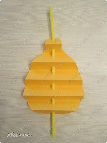 Хочу показать вам, дорогие мастера увлекательный процесс создания вот таких бумажных игрушек-гармошек: фото 9