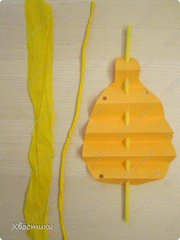 Хочу показать вам, дорогие мастера увлекательный процесс создания вот таких бумажных игрушек-гармошек: фото 12