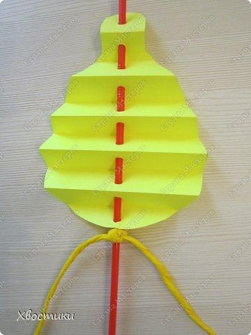 Хочу показать вам, дорогие мастера увлекательный процесс создания вот таких бумажных игрушек-гармошек: фото 24