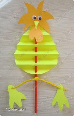 Хочу показать вам, дорогие мастера увлекательный процесс создания вот таких бумажных игрушек-гармошек: фото 29