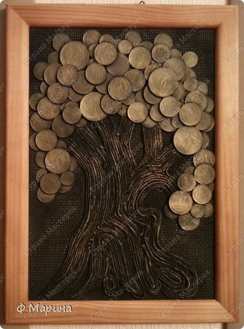 Вот решила попробовать сделать дерево, идею которого повзаимствовала у мастерицы Марины https://stranamasterov.ru/node/578436?c=favorite