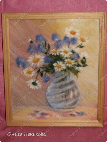 Моя работа по картине Рудницкой Ж.А.