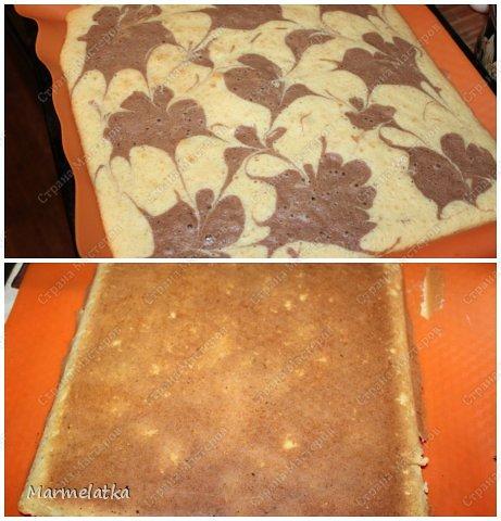 Нежный бисквит, воздушная творожная начинка и сладкие персики. И все это за 30 минут!!! фото 15
