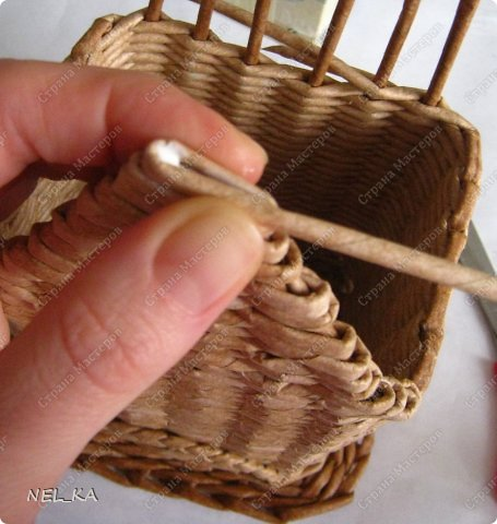 """По """"горячим следам"""" хочу показать весь процесс """"рождения"""" чайного домика. Это второй экземпляр, получился немного больше первого. Размер 11*9 см. Высота 20 см. фото 25"""