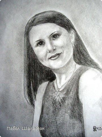 Портрет пастелью фото 2