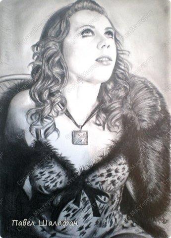 Портрет пастелью фото 3