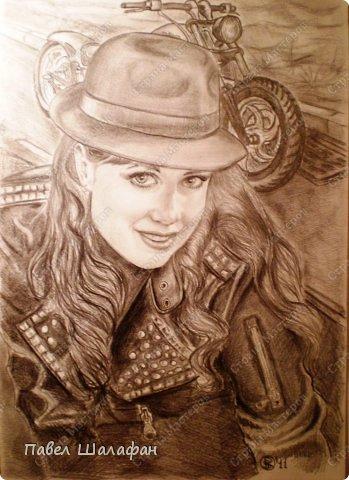 Портрет пастелью фото 4