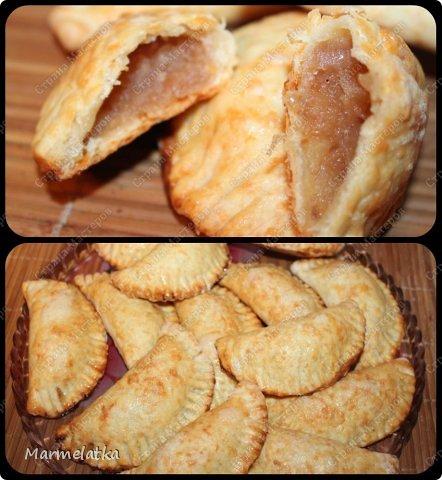 Добрый вечер!! Я сегодня с пирожками! Последние яблоки пускаю в дело!!! фото 14