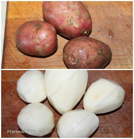 У нас дома очень любят картошку! Готовы есть ее целыми днями, но привычное пюре, или жаренная уже стали надоедать. Покапалась в интернете и нашла замечательный рецепт быстрой и вкусной картошечки с соевым соусом!  фото 3