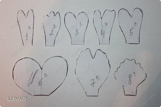 Большие пионы из бумаги своими руками схемы шаблоны 16
