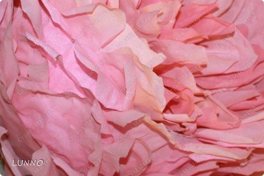 Продолжаю рассказывать вам о создании больших цветов! На этот раз это были пионы :) фото 12