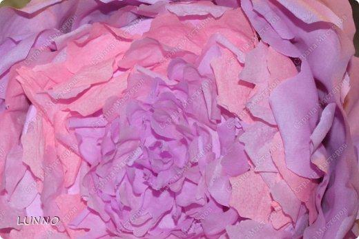 Продолжаю рассказывать вам о создании больших цветов! На этот раз это были пионы :) фото 11