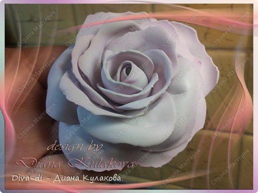 В этом мастер-классе покажу еще один способ, более быстрый - как сделать розу. Быстрота заключается в том, что тонировать лепестки мы будем не по-штучно, а целыми полосами. фото 2