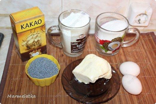 Вот такое печенье получилось, песочное , рассыпчатое... мммм))) И для больших любителей мака... фото 2