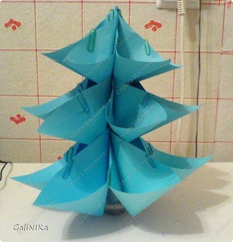 Мастер-класс Поделка изделие Новый год Моделирование конструирование Ёлочки вариации на тему одного модуля Бумага фото 15