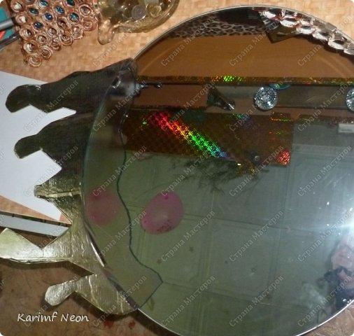 """Увидел, что в интернете продают """"стекающие зеркала"""". Я решил сделать своё зеркало.  фото 7"""