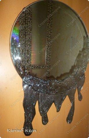 """Увидел, что в интернете продают """"стекающие зеркала"""". Я решил сделать своё зеркало.  фото 10"""