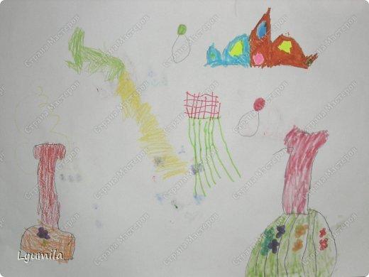Добрый день! Сегодня у Лидочки в клубе Дед Мороз поздравлял детей и был праздник. Я сделала для неё (Лидочка помогала) костюм лягушки, который состоит из платья туту, (которое шьётся БЕЗ швейной машинки) и ободка с глазками. Далее фото с праздника фото 27