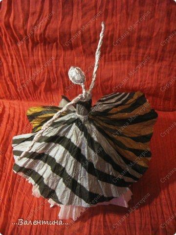 Мастер-класс Поделка изделие Новый год Моделирование конструирование Плетение Новогодняя сказка Салфетки Фольга фото 34