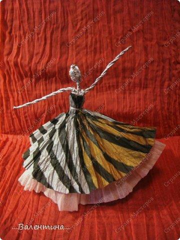 Мастер-класс Поделка изделие Новый год Моделирование конструирование Плетение Новогодняя сказка Салфетки Фольга фото 35