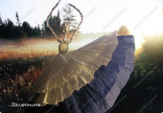 Мастер-класс Поделка изделие Новый год Моделирование конструирование Плетение Новогодняя сказка Салфетки Фольга фото 36