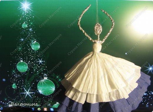 Мастер-класс Поделка изделие Новый год Моделирование конструирование Плетение Новогодняя сказка Салфетки Фольга фото 37