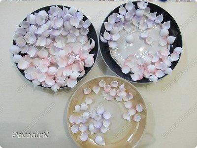 Уникальный материал - фоамиран! Именно из него у меня стали получаться розы. Спешу поделиться своей радостью с вами. Материал новый, МК немного. Еще один МК (от неумехи) не помешает? фото 10