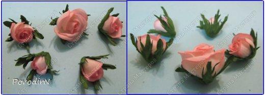 Мастер-класс Поделка изделие 8 марта День рождения День учителя Новый год Моделирование конструирование Розы розочки бутоны Фоамиран фом фото 24