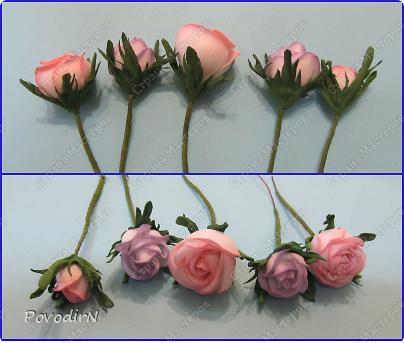 Уникальный материал - фоамиран! Именно из него у меня стали получаться розы. Спешу поделиться своей радостью с вами. Материал новый, МК немного. Еще один МК (от неумехи) не помешает? фото 25