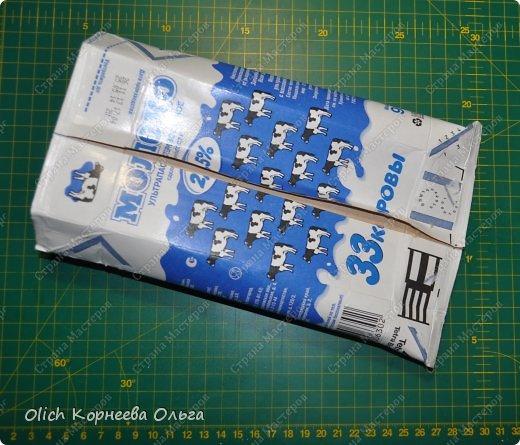 Мастер-класс Упаковка 8 марта День рождения Моделирование конструирование Упаковка из пакетов Tetra Pak Картон Клей Нитки Салфетки фото 5