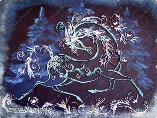"""Здравствуйте, творческие жители Страны Мастеров! Перед новым годом в Стране Мастеров появилось множество коней разных мастей. Сегодня я представляю своего зимнего коня. """"Морозко"""" №2. https://stranamasterov.ru/node/144297 фото 1"""