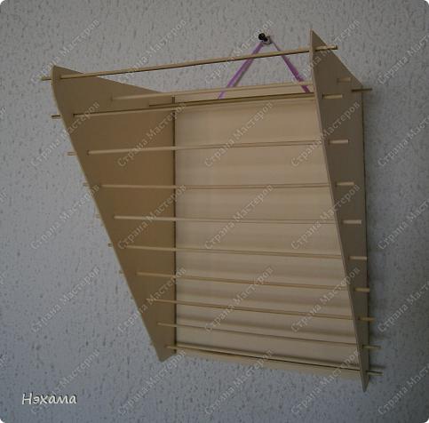 Мастер-класс Поделка изделие Моделирование конструирование сушилка для холодного фарфора МК Картон Ткань фото 1