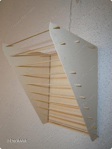 Мастер-класс Поделка изделие Моделирование конструирование сушилка для холодного фарфора МК Картон Ткань фото 9