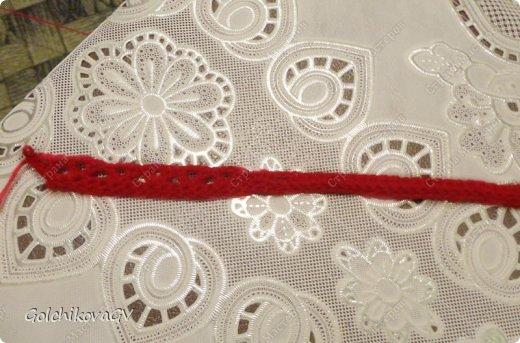 Гардероб Мастер-класс День рождения Вязание крючком Манишка для малышки Пряжа фото 6