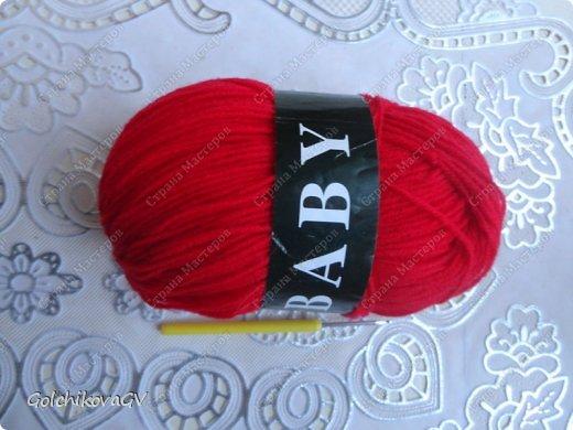 Гардероб Мастер-класс День рождения Вязание крючком Манишка для малышки Пряжа фото 2