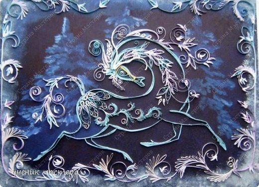 """Здравствуйте, творческие жители Страны Мастеров! Перед новым годом в Стране Мастеров появилось множество коней разных мастей. Сегодня я представляю своего зимнего коня. """"Морозко"""" №2. https://stranamasterov.ru/node/144297 фото 8"""