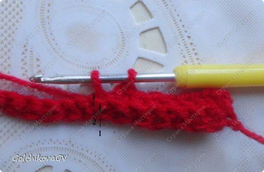 Гардероб Мастер-класс День рождения Вязание крючком Манишка для малышки Пряжа фото 4
