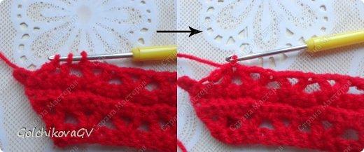 Гардероб Мастер-класс День рождения Вязание крючком Манишка для малышки Пряжа фото 11