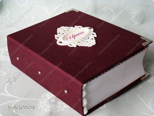 Представляю Вашему вниманию шкатулку-книжку.  фото 2