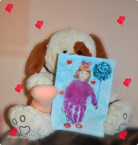 Всем привет! Используя идею malinka78 (https://stranamasterov.ru/node/641756), мы с сыном сделали подарок-валентинку для подружки сына. Полюбуйтесь.