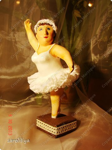 Куклы Мастер-класс Папье-маше Скульптуры из папье-маше Бумага Клей Краска фото 1