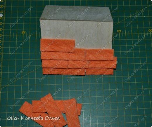 Декор предметов Мастер-класс Декупаж Чайный домик с деревянной крышей Дерево Клей Краска Салфетки фото 17
