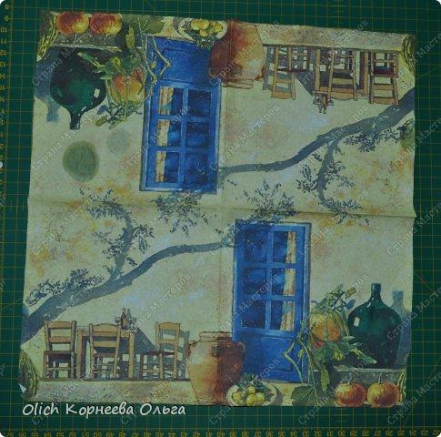Декор предметов Мастер-класс Декупаж Чайный домик с деревянной крышей Дерево Клей Краска Салфетки фото 8