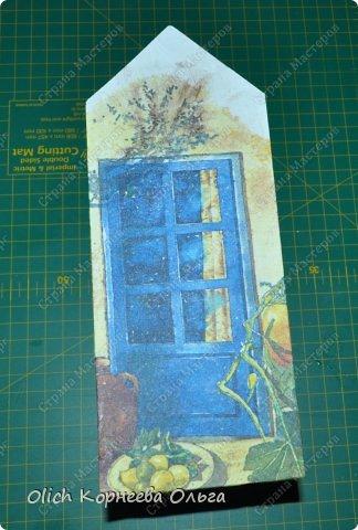 Декор предметов Мастер-класс Декупаж Чайный домик с деревянной крышей Дерево Клей Краска Салфетки фото 9