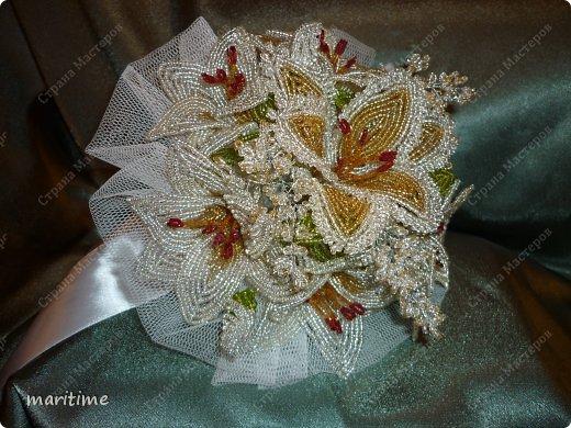 Бисероплетение Свадебный